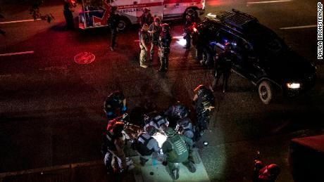 1 person is dead after a shooting during protests in downtown Portland