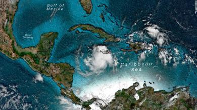 Nana, churning toward Central America, is the earliest 14th named storm to form in Atlantic