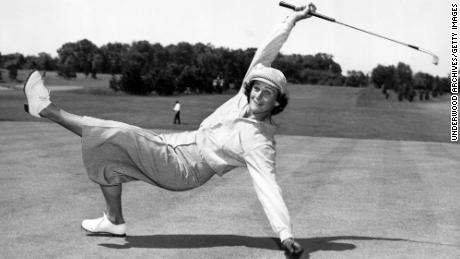 """Zaharias became a """"huge draw"""" for golf crowds due to her energetic levels on the course, according to Van Natta Jr."""