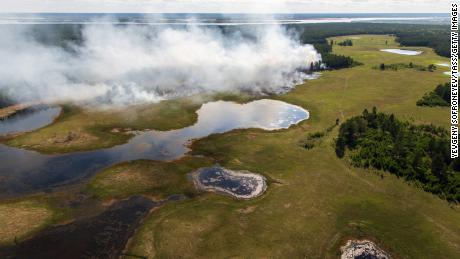 Summer 2020's Arctic wildfires set new emission records