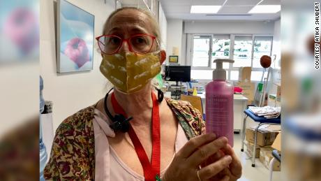 Inmaculada Herranz, head nurse at the British Council School, Madrid.