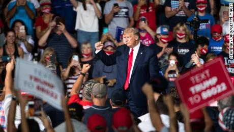 History shows why the next few weeks are important for Trump 2020