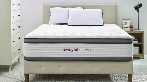 Wayfair Sleep 14-Inch Plush Hybrid Mattress