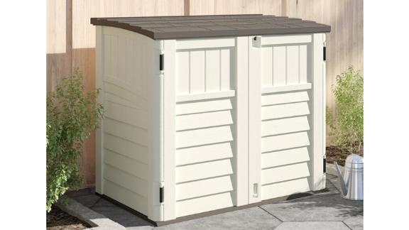 Suncast Outdoor Horizontal Storage Shed
