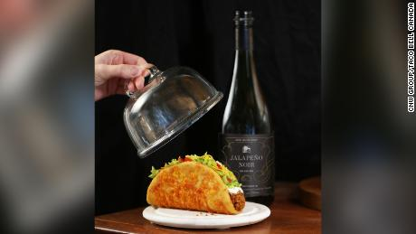 Taco Bell Canada is selling Jalapeño Noir wine for a limited time.