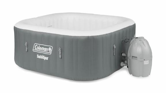 Coleman Portable Outdoor 4-Person 114-Jet Inflatable Hot Tub