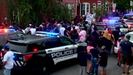 Lancaster, Pennsylvania, police shooting of knife-wielding man ruled a homicide