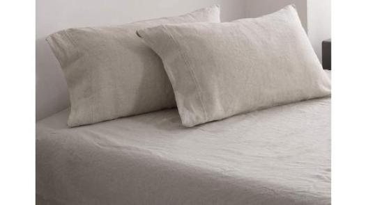 Amazon Simple&Opulence 100% Washed Linen Sheet Set