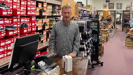 At the beginning of the pandemic, Peter Gimre, owner of Gimre's Shoes, didn't think his business could survive for more than a few months.