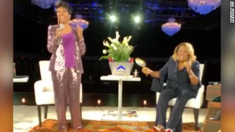 "Patti Labelle and Gladys Knight in the latest ""Verzuz"" battle."