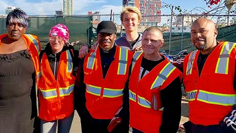 To date, Wheels of Change workers have removed 180 tons of trash from San Diego's streets.