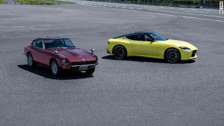 The Nissan Proto Z concept is modeled after the classic Datsun 240Z.