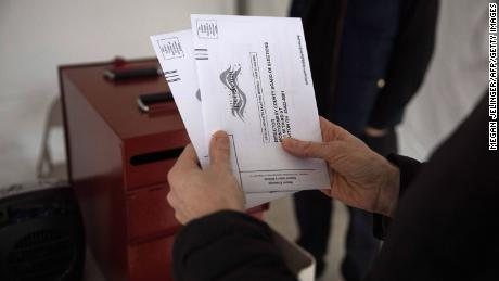 Pre-election voting surpasses half of all 2016 ballots cast with week left until Election Day