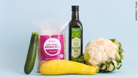 Imperfect Foods now sells grocery items, in addition to produce.