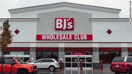 BJ's operates more like a supermarket than Costco and Sam's Club.