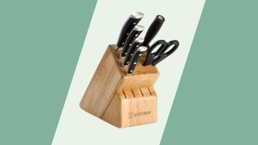 Wüsthof Classic Ikon 7-Piece Walnut Block Knife Set
