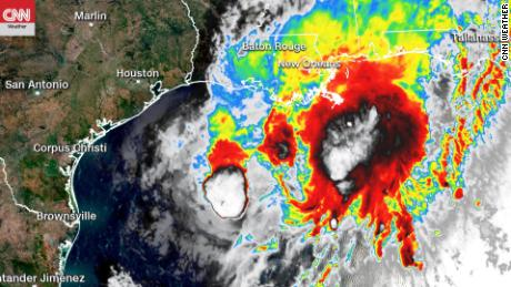 Record-breaking storm season spawns slow-moving Beta along an already battered Gulf Coast