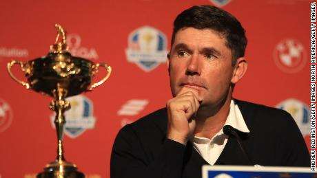 Padraig Harrington competed in six Ryder Cups as a player, winning four of them.