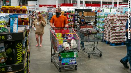 Costco has resisted giving customers the option to buy groceries online and pick them up in stores, missing out on a growing market.