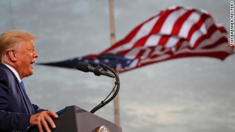 Trump foments mistrust of election he claims won't be honest