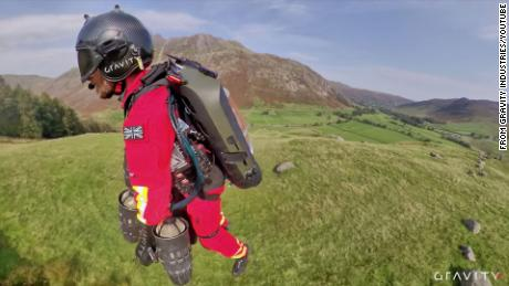 There are hopes the jet suit could have huge potential to deliver emergency care.