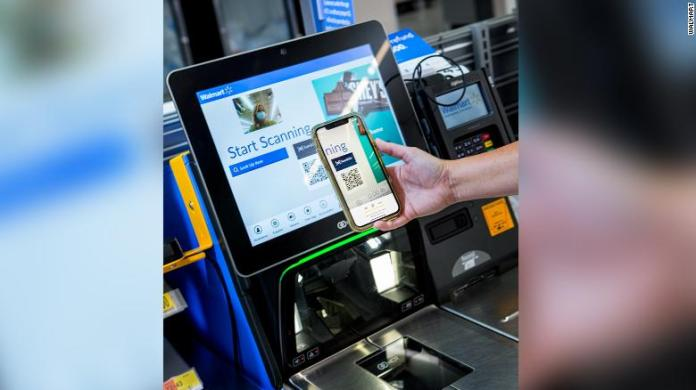 """Shoppers can use the app's new """"Scan & Go"""" feature."""