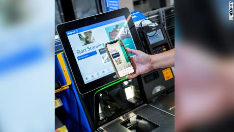 """Shoppers can make new use of the app """"Scan and go"""" Feature."""