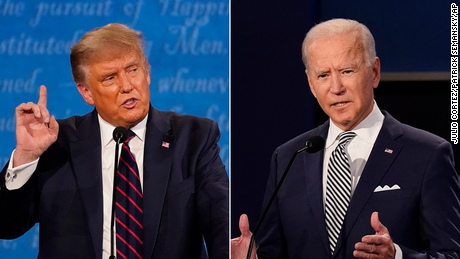 In news about the presidential race, coronavirus overtakes nearly all else