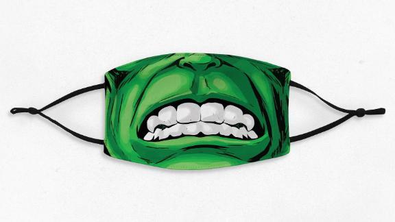 Assmasks Incredible Hulk Face Mask