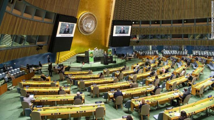 World leaders addressed the UN Biodiversity Summit virtually at the UN headquarters in New York on Wednesday.
