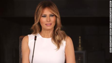 First lady Melania Trump in September