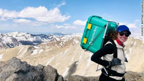 She raised $85,000 for Covid-19 relief by climbing all 58 of Colorado's 14,000 feet peaks