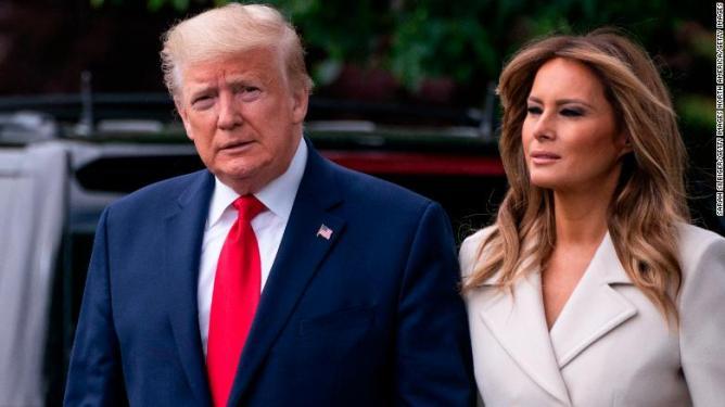 President Donald Trump and first lady Melania Trump test positive for Covid-19 - CNNPolitics