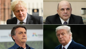 Donald Trump's positive coronavirus test puts him in the company of Boris Johnson and Jair Bolsonaro