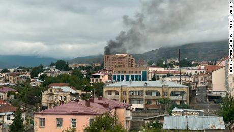 Leaders spar over missile attack claims in Armenia-Azerbaijan conflict