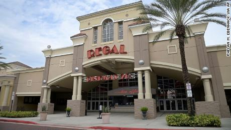 Movie magic at Regal Cinemas theaters is on hold for now.