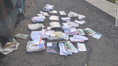 Mail, which included ballots, found dumped in a North Arlington, New Jersey dumpster.