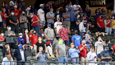 No more 'fake crowd noise' as fans return to the MLB for first time since March