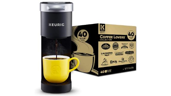 Keurig K-Mini Coffee Maker and Pods
