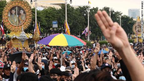 Thailand's unprecedented uprising is holding people back against the King