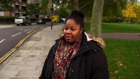 London resident Monica Richardson told CNN she was concerned the older generation would be isolated under the new rules.