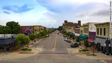 Covid-19 is surging in small-town America