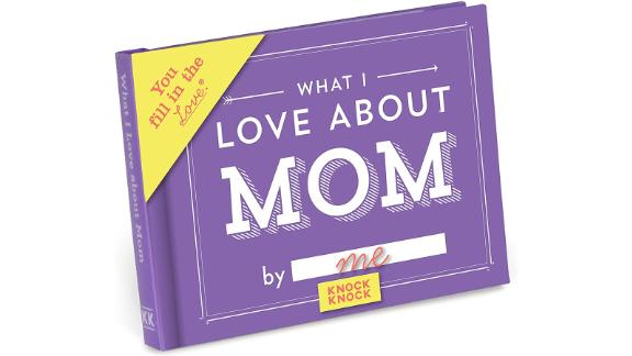 Knock Knock What I Love About Mom Fill-in-the-Blank Journal