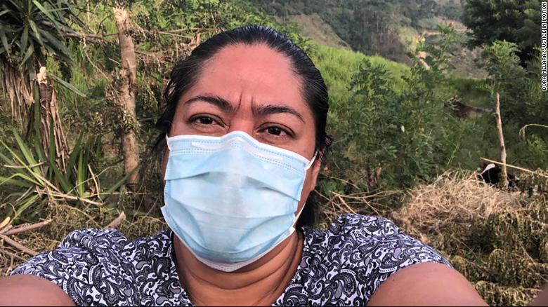 Attorney Dora Melara's search for separated families has taken her to remote regions of Honduras. She says the pandemic has limited the number of days she can look for parents.