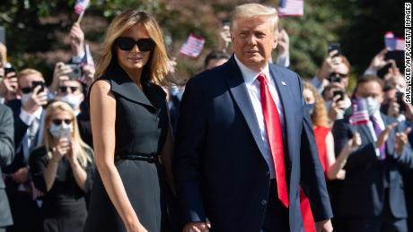 Melania Trump to show trail of delayed campaign