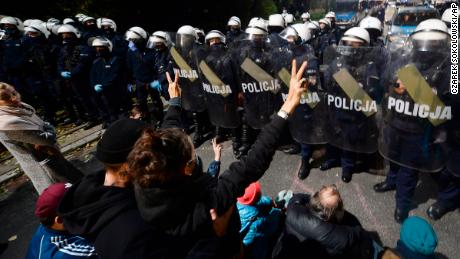 Poland adopts near total abortion ban, sparking protests