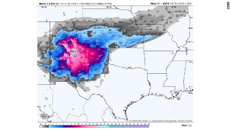 Welcome snows in Colorado for firefighters, with accumulating snow from the Southwest to the Great Lakes.