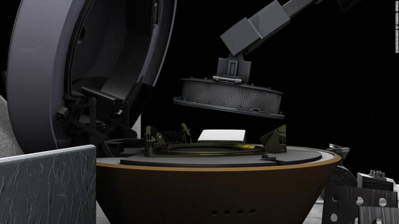 NASA spacecraft to stow asteroid sample to stop leakage