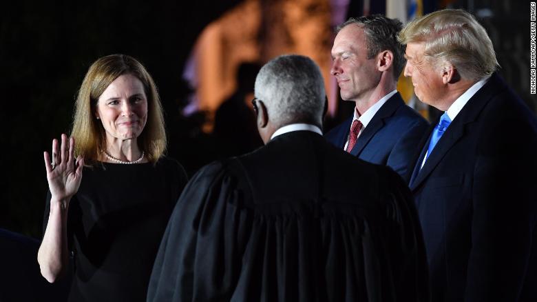 Amy Coney Barrett joins the Supreme Court in unprecedented times -  CNNPolitics