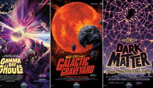 I nuovi poster della NASA condividono orrori galattici per Halloween